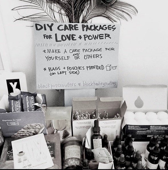 For the Love DIY self care package supplies