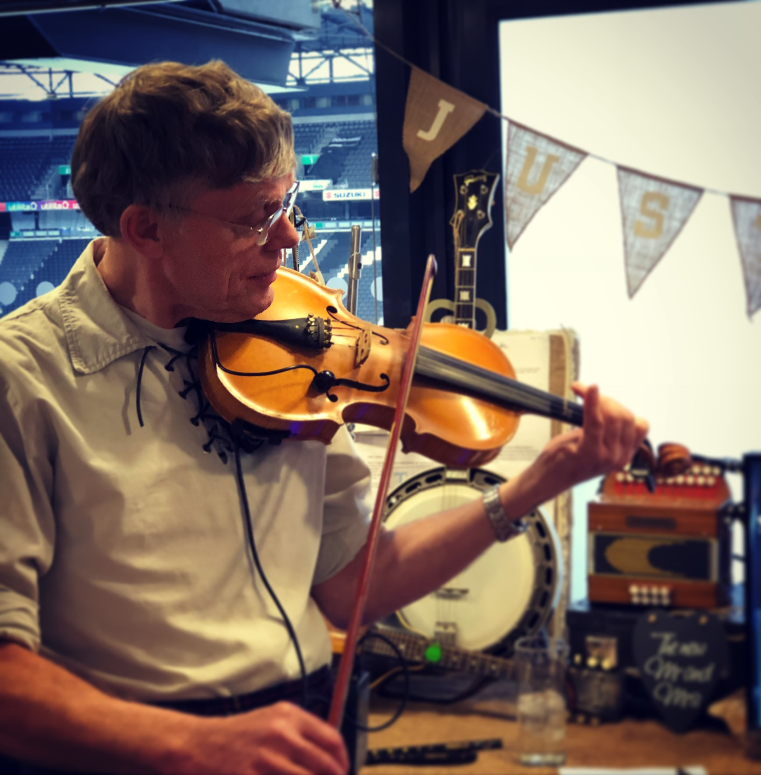 Joe Boland (Fiddle, Melodeon, Mandolin, Vocals)