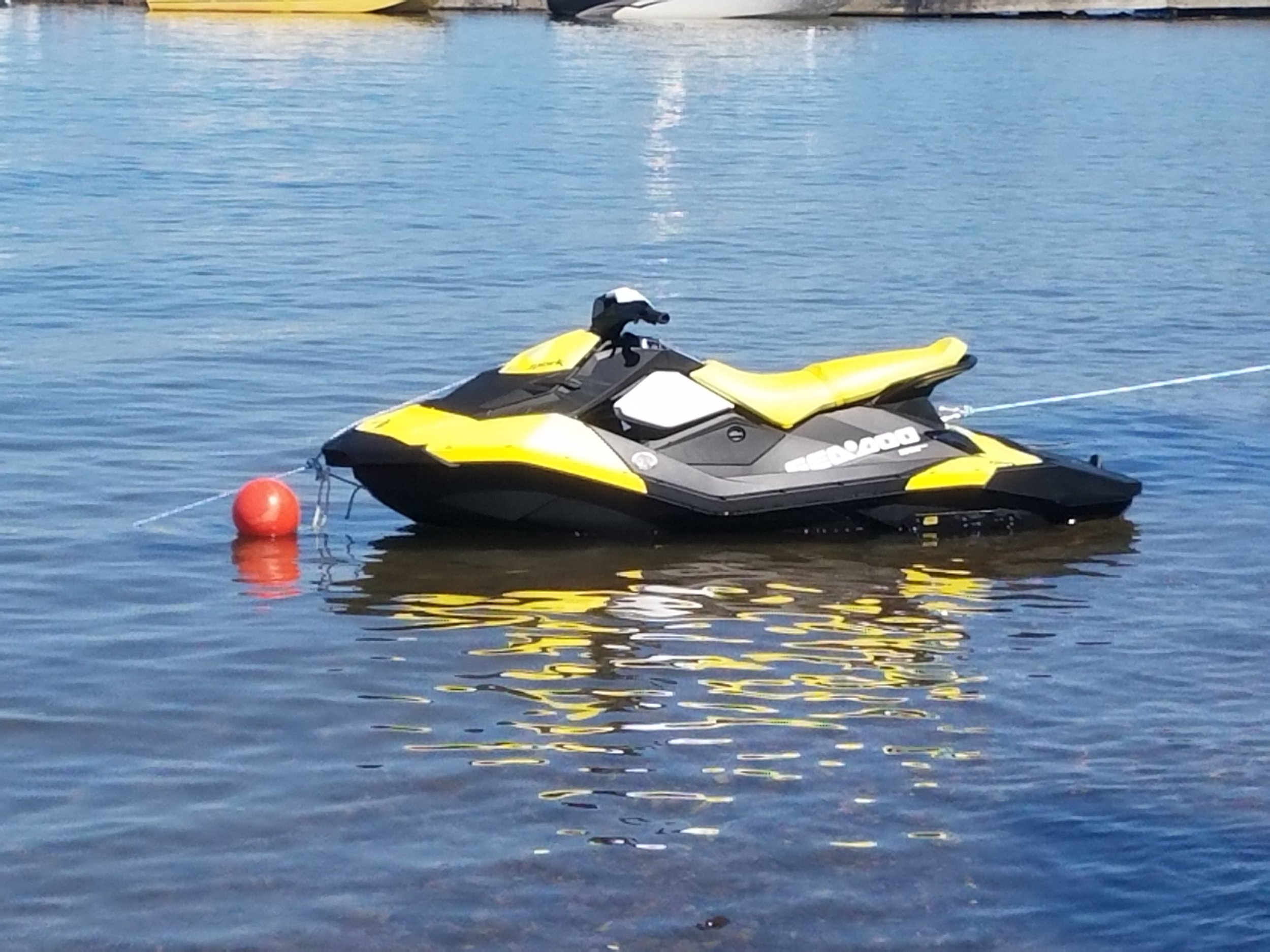The Yellow Seadoo Spark