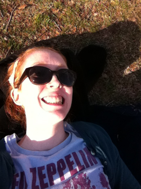 Step one: Get out and enjoy some sun!
