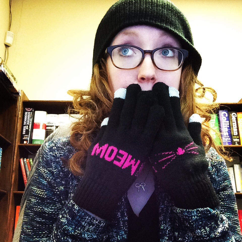 Totes necessarywhen it isfreezing in the office!