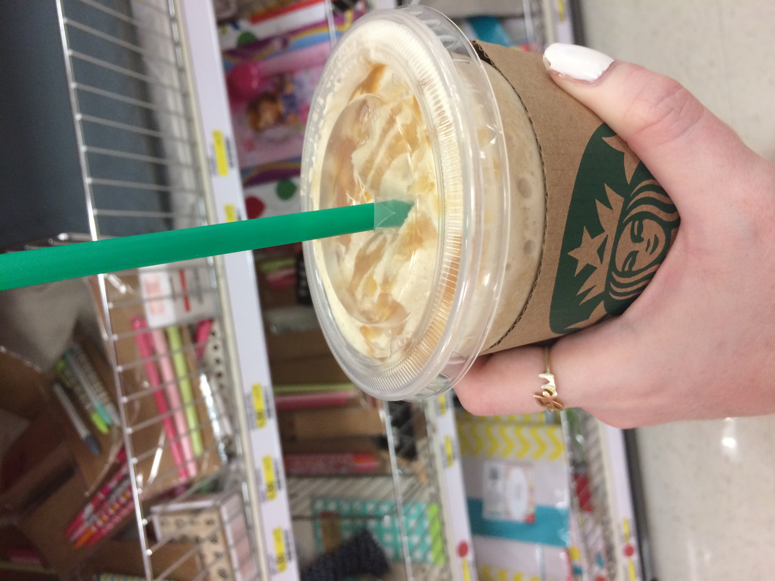 Wandering aimlessly with some Starbs