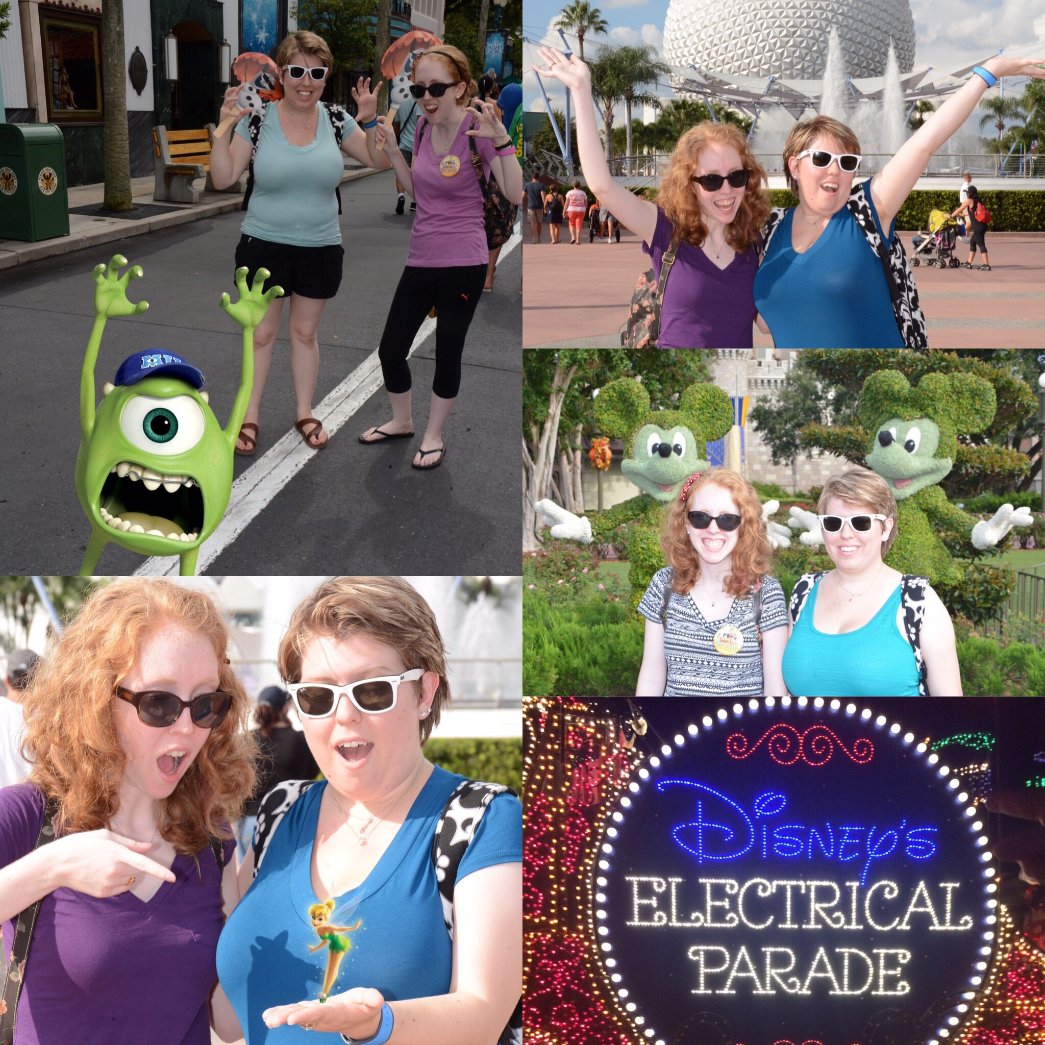 My first trip to Disney WORLD! Soph got Magic Shots as a b-day gift for me (and so all of our pics weren't selfies, since it was just the two of us! Smart gal!)