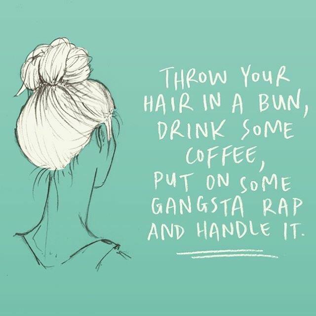 A fine motto, haha!