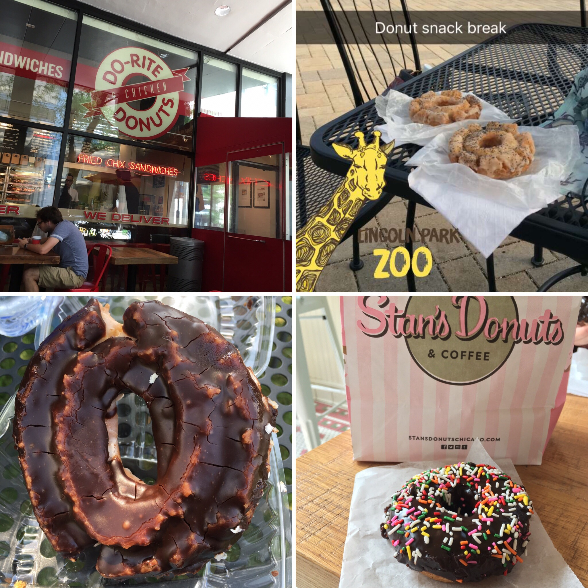 Four days of donuts! Do-Rite, Firecakes, Stan's, and Glazed and Infused.