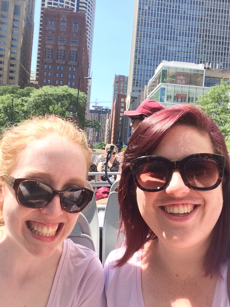 Bus tour selfie!