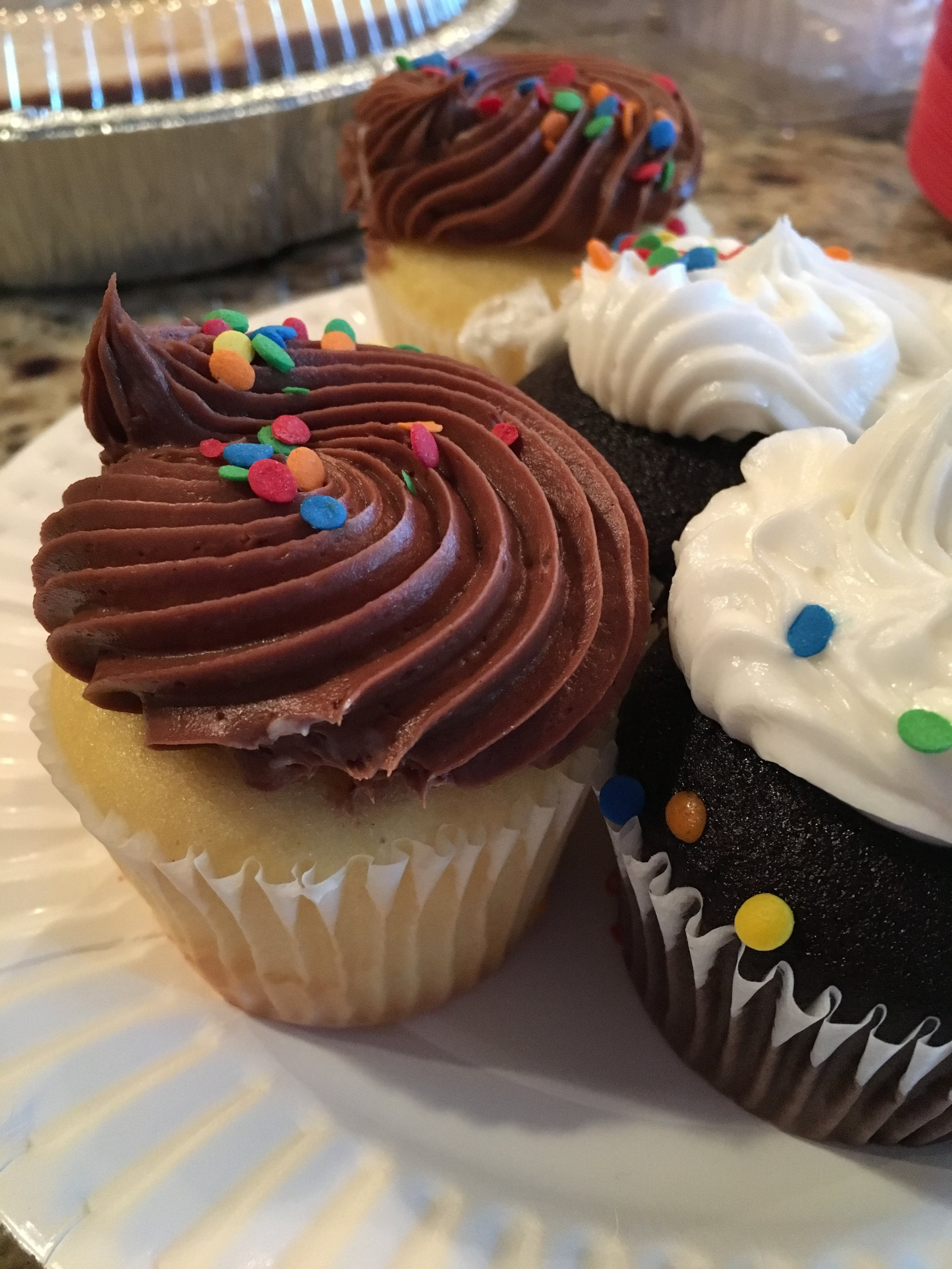Put a plate of cupcakes in front of me and I will photograph it. (I didn't actually have one, but only because Funfetti cake was another option. 💯)