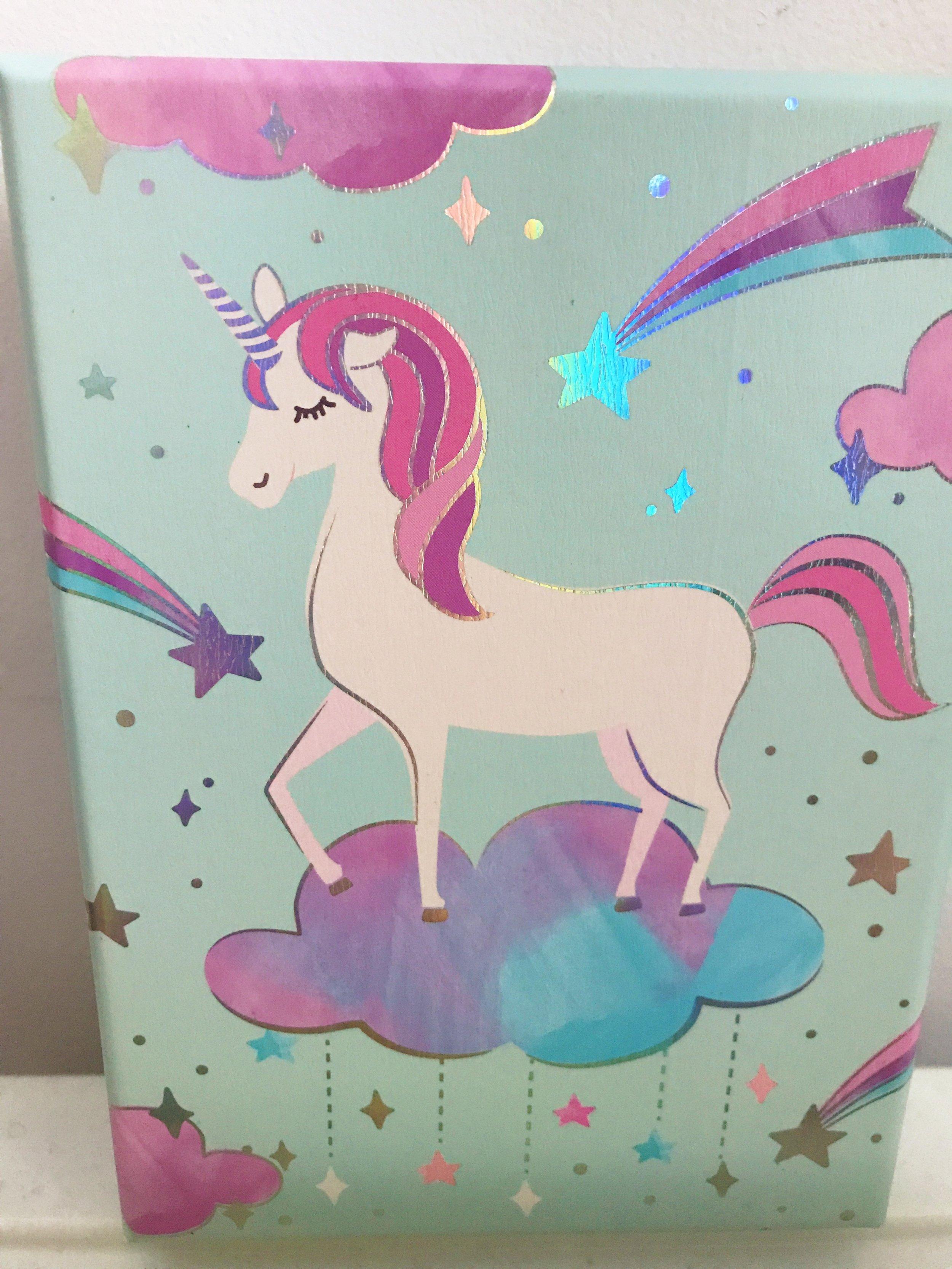 Pink and purple! Sparkles! Unicorn! 💯