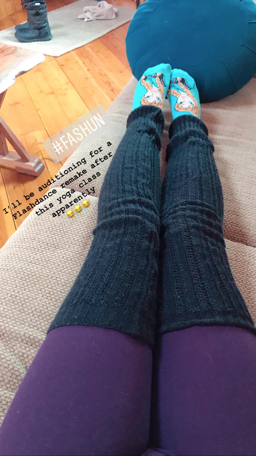 Anna socks on fleek ✌�