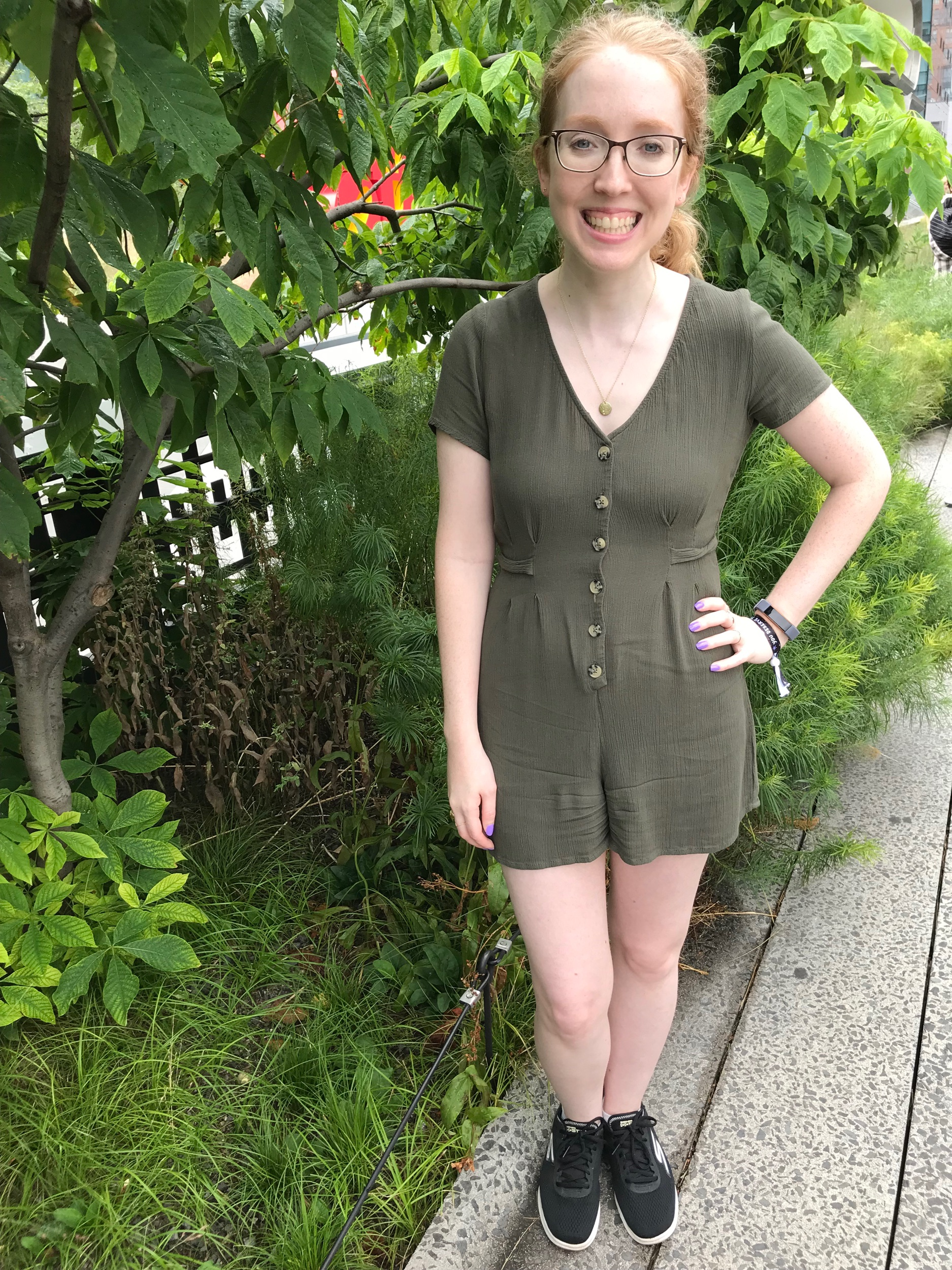 I'm loving this  Target  romper I got with one of my birthday gift cards!