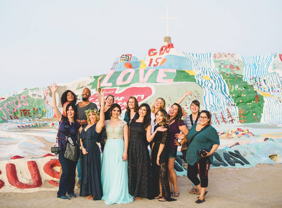 A BIG THANK YOU to all of our attendees, models, and vendors! And also Thanks to Salvation Mountain Man for allowing up to photograph at this amazing work of art!