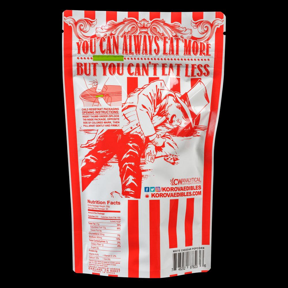 White Cheddar Popcorn - 300mg THC — KOROVA
