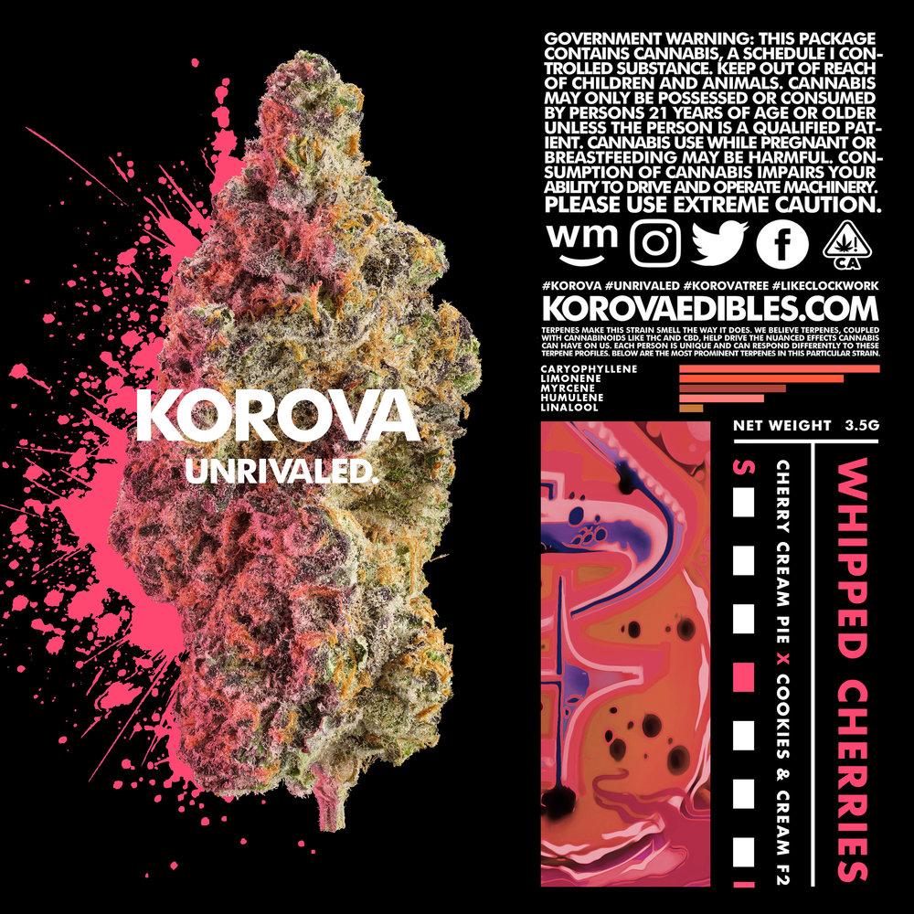 WHIPPED CHERRIES — KOROVA