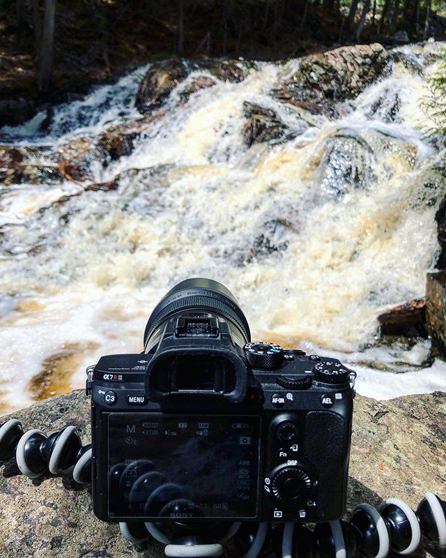 Sometimes you just need some time with your camera to get your head straight. . . . #a7rii #sonyimages #behindthescenes #falls #spring #sigmaart35mm #landscapelovers #ig_photostars #pureontario #gf_canada #thevisualvogue #waterfalls #sonya7rii  #sonylovers #trailblazerss #longexpohunter #longexposure_shots #longexposures #ig_northbay #northbay #northbayphotographer #iphonex #iphonephotography #duchesnayfalls #northbayontario