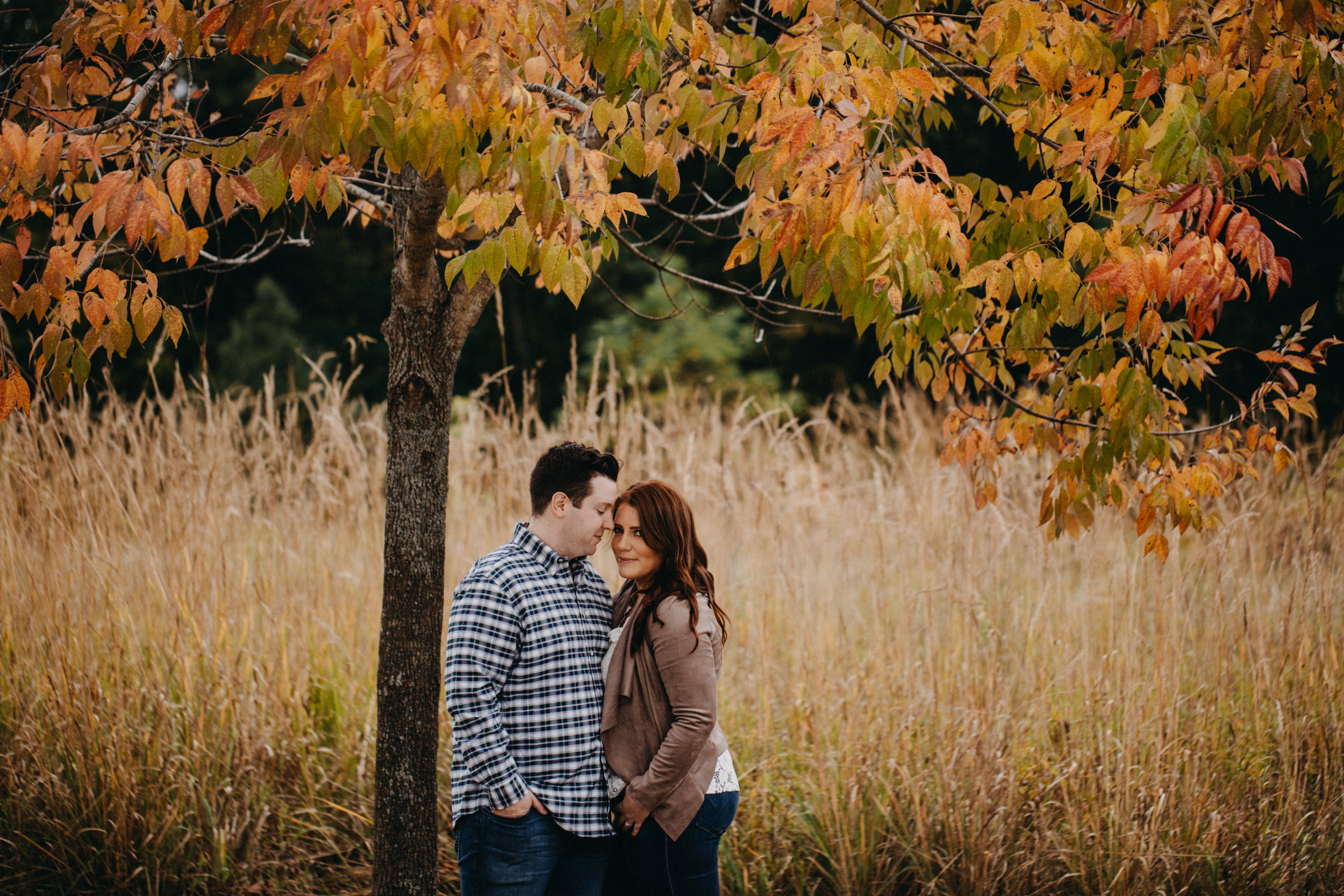 Megan and Alex - Fall Engagement | Ryerson Conservation Area | Deerfield, IL