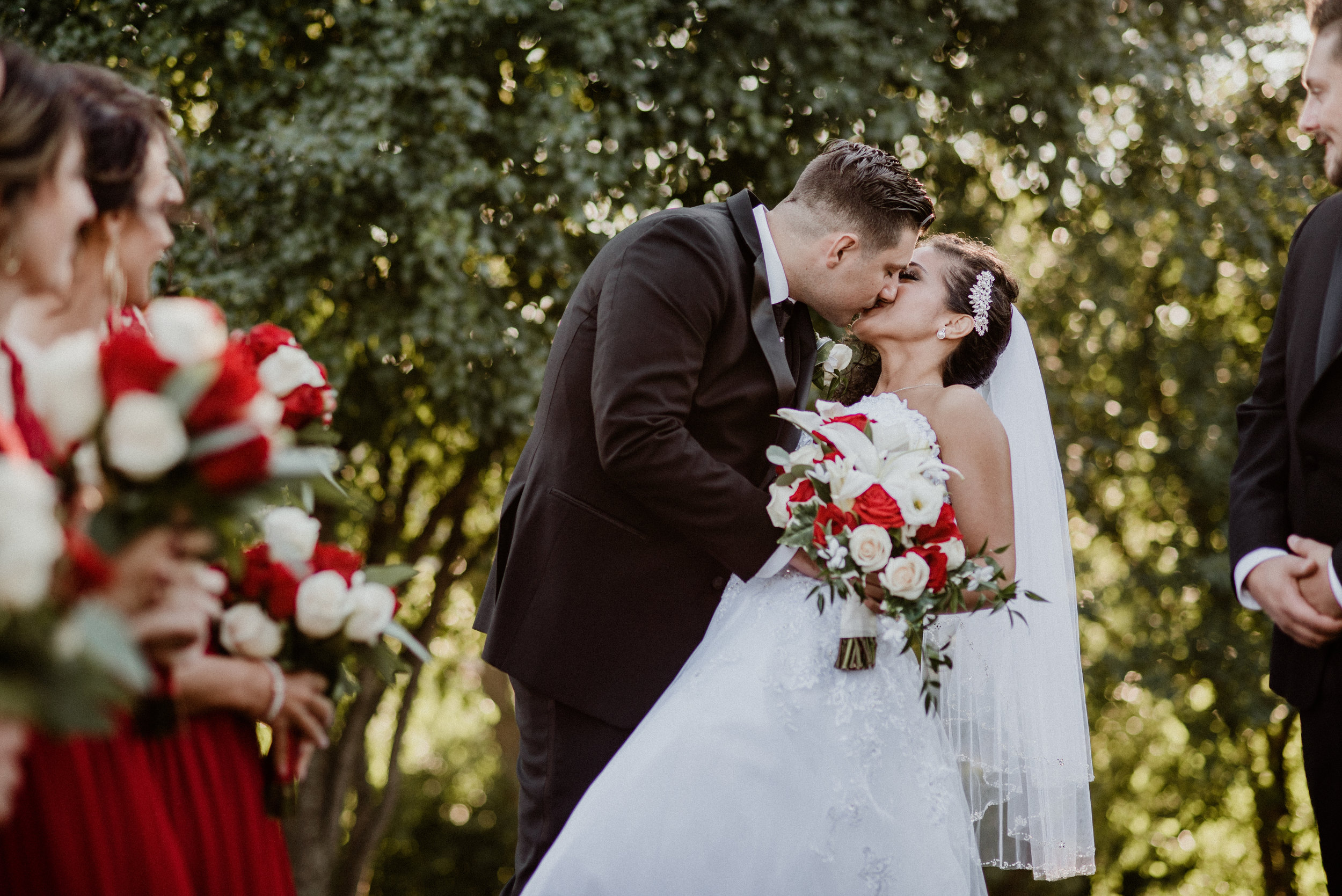 Rosalia and Pietro - Romantic Italian Wedding | St. Pascals Catholic Parish Ceremony | Alta Villa Banquets | Addison, IL