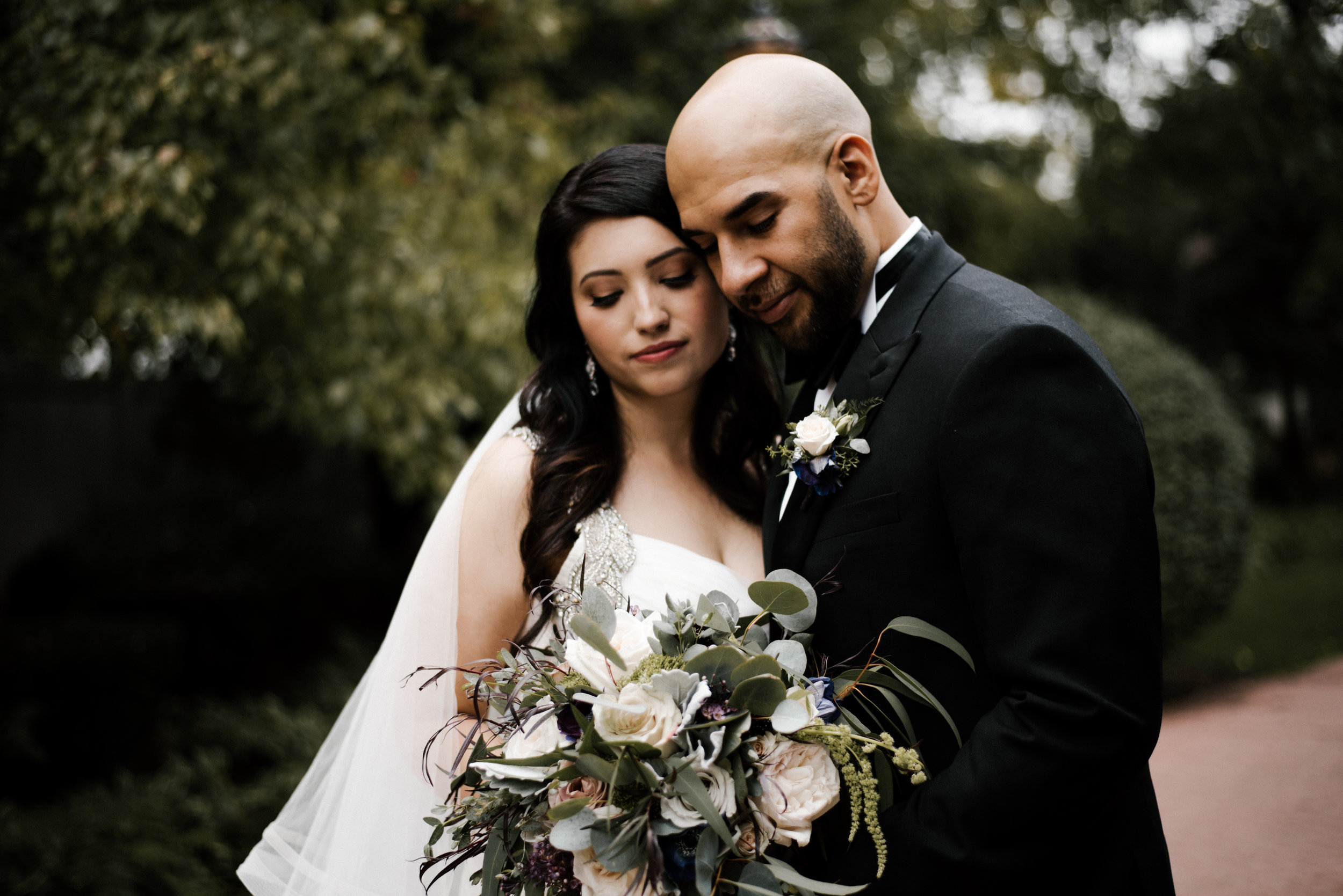 Iris and Luis - Harrah's Joliet Hotel | Patrick Haley Mansion Twilight Wedding | Joliet, IL