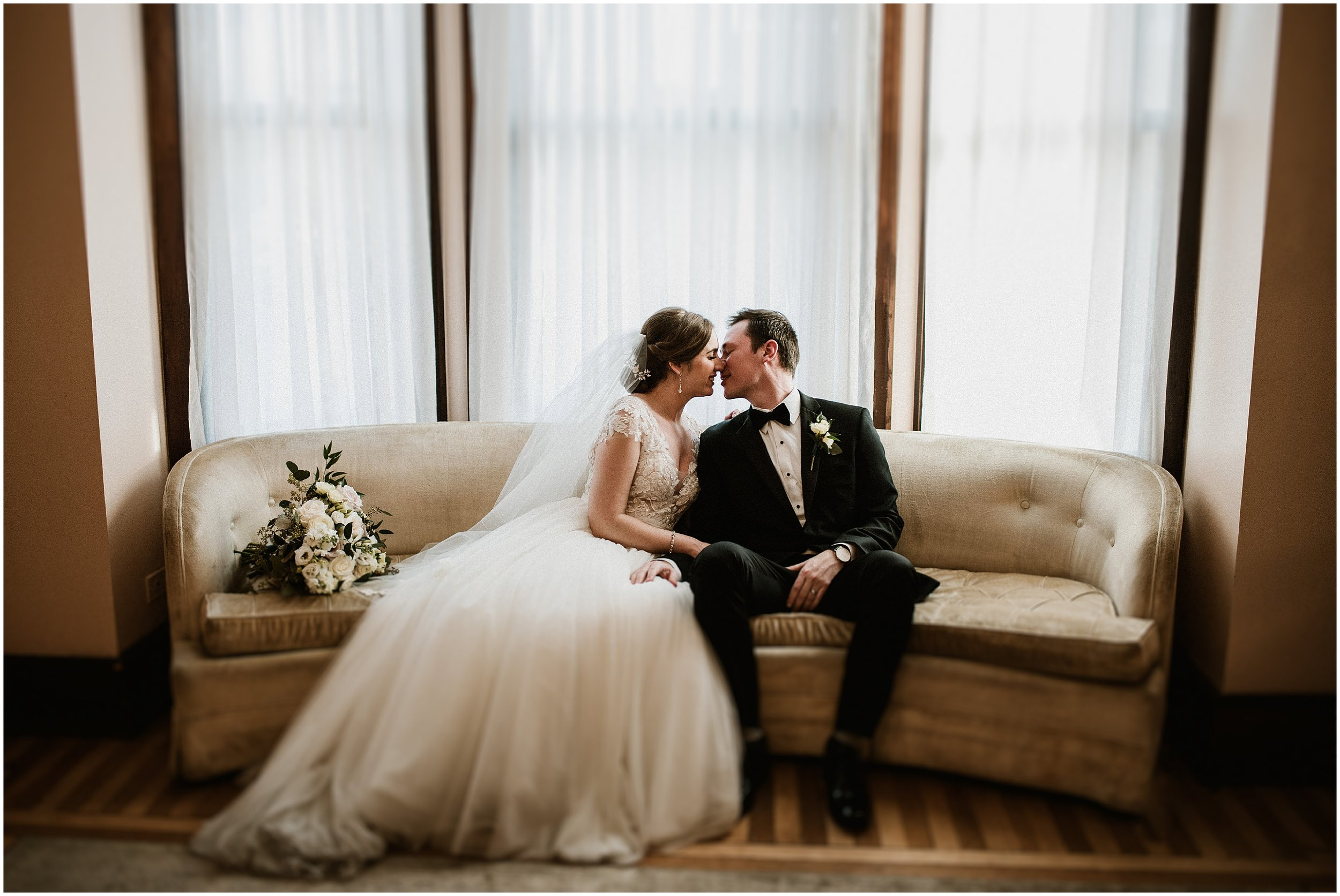 Candace Sims Photography | Brittany and Andrew | Vintage Wedding | The Haight, Elgin IL