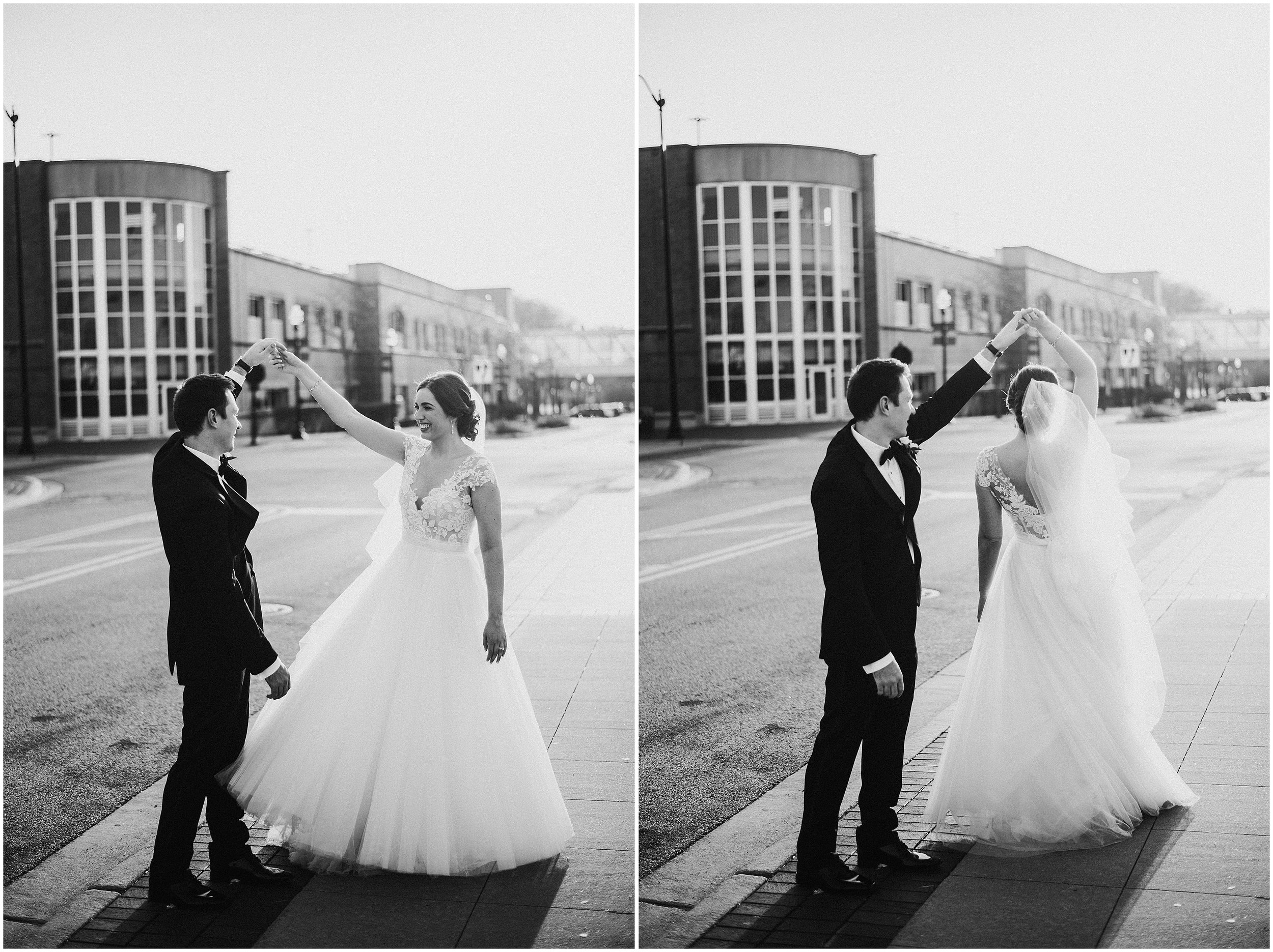 Candace Sims Photography | Brittany and Andrew | Elegant Vintage Wedding | The Haight, Elgin IL