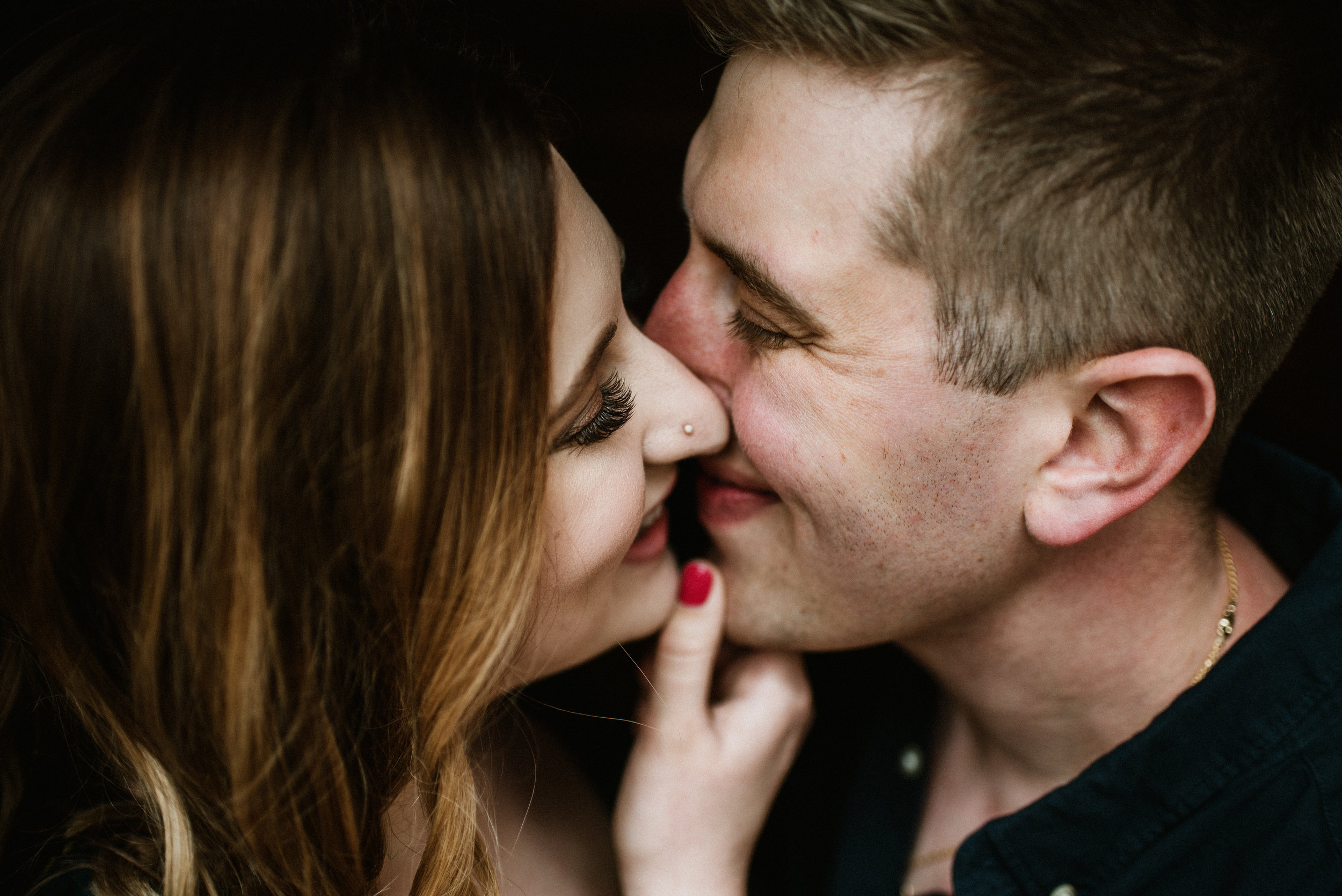 Melissa and David - Spring Engagement | Chicago Botanic Garden | Glencoe, IL