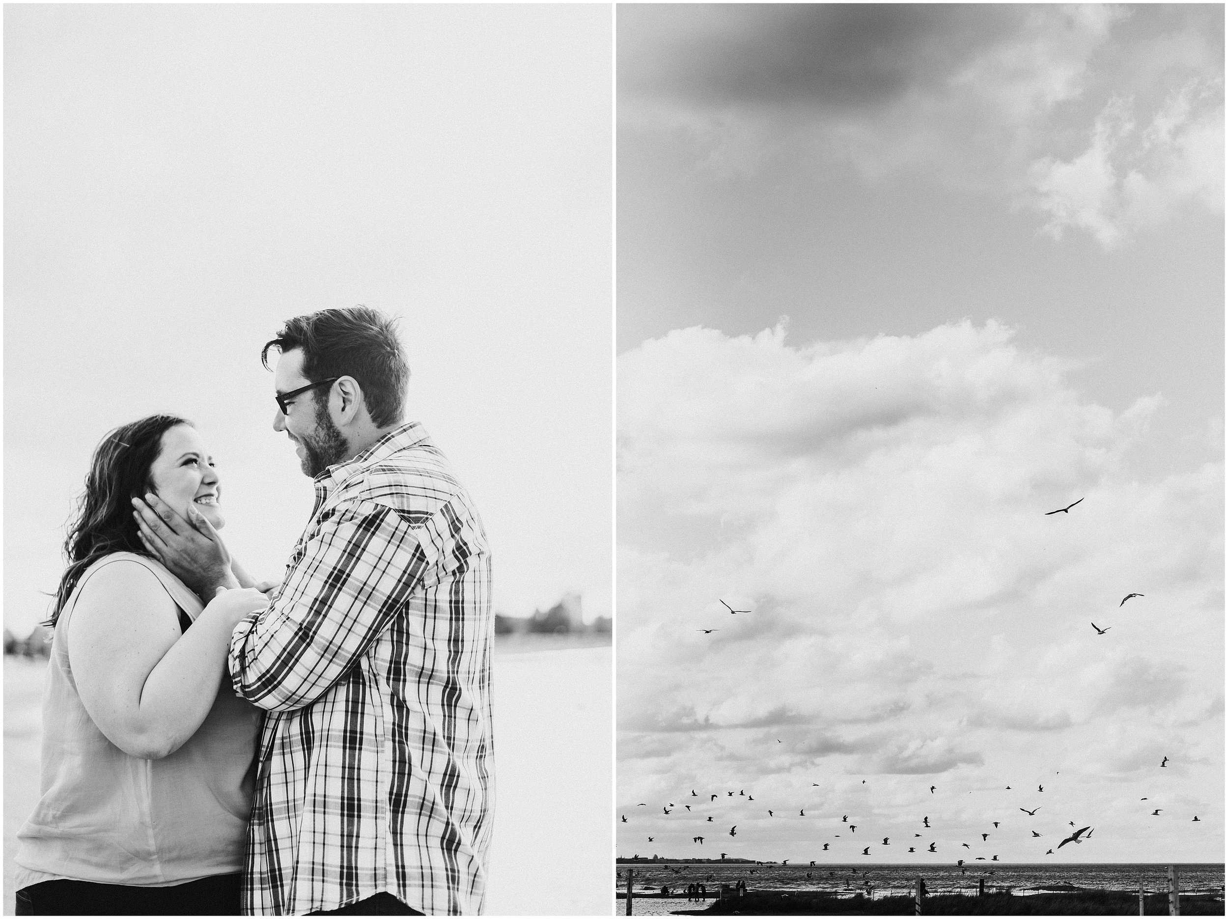 Brooke and Mike Spring Engagement Session | Montrose Point Bird Sanctuary | Chicago, IL