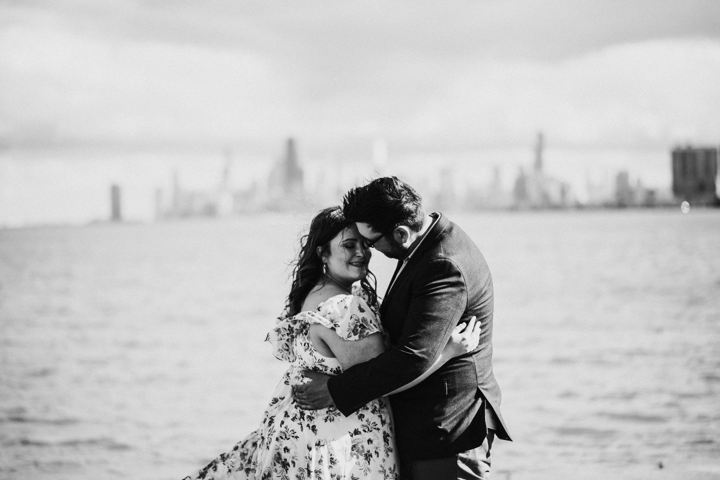Brooke and Mike - Spring Engagement Session   Montrose Point Bird Sanctuary   Chicago, IL