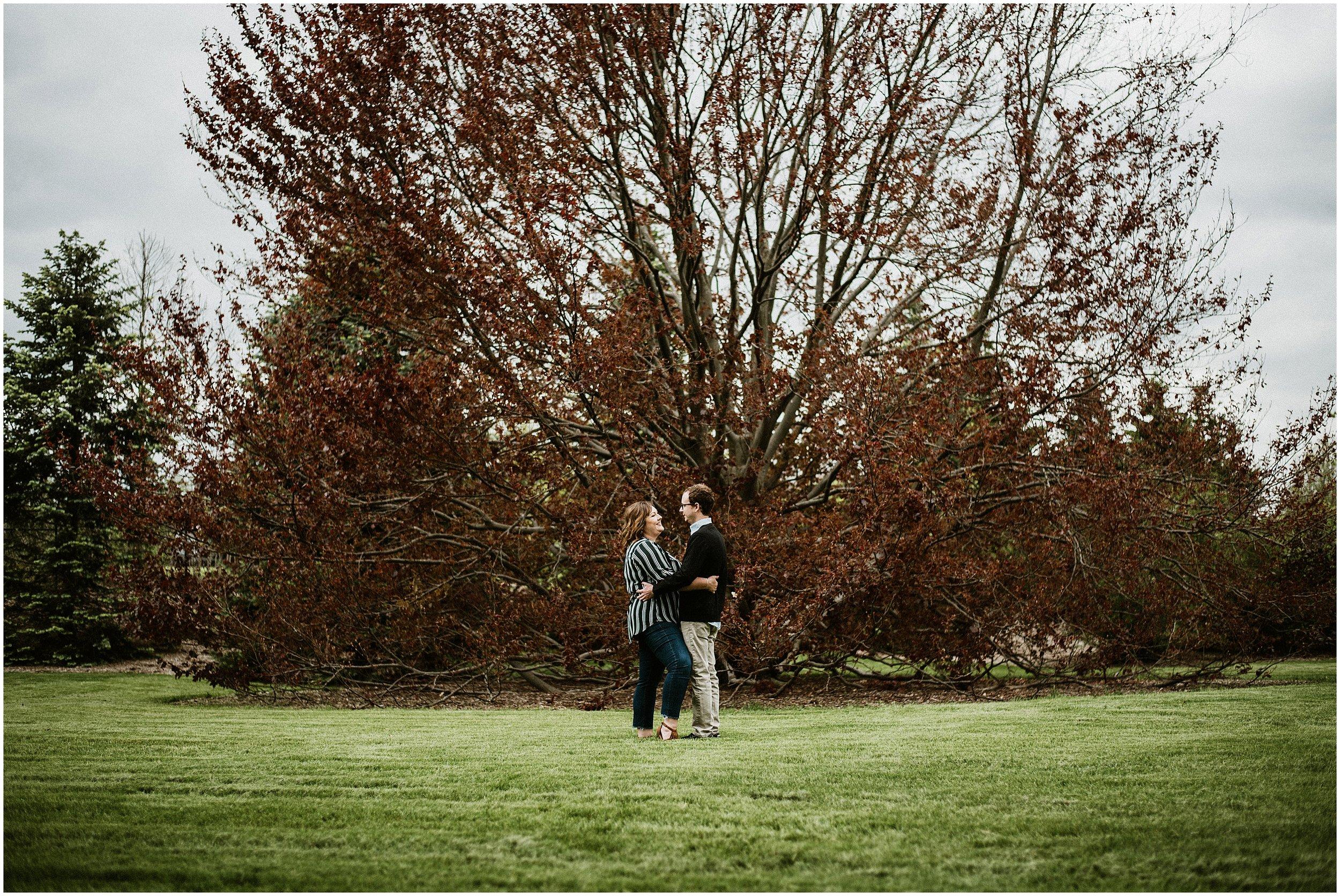 Candace Sims Photography | Amanda and Kyle | The Morton Arboretum | Lisle, IL