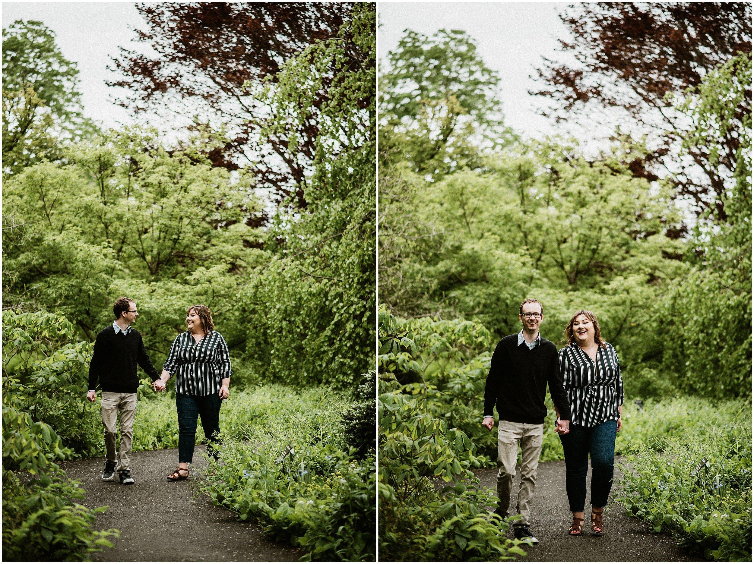 Candace Sims Photography | Amanda and Kyle | The Morton Arboretum Spring Engagement | Lisle, IL