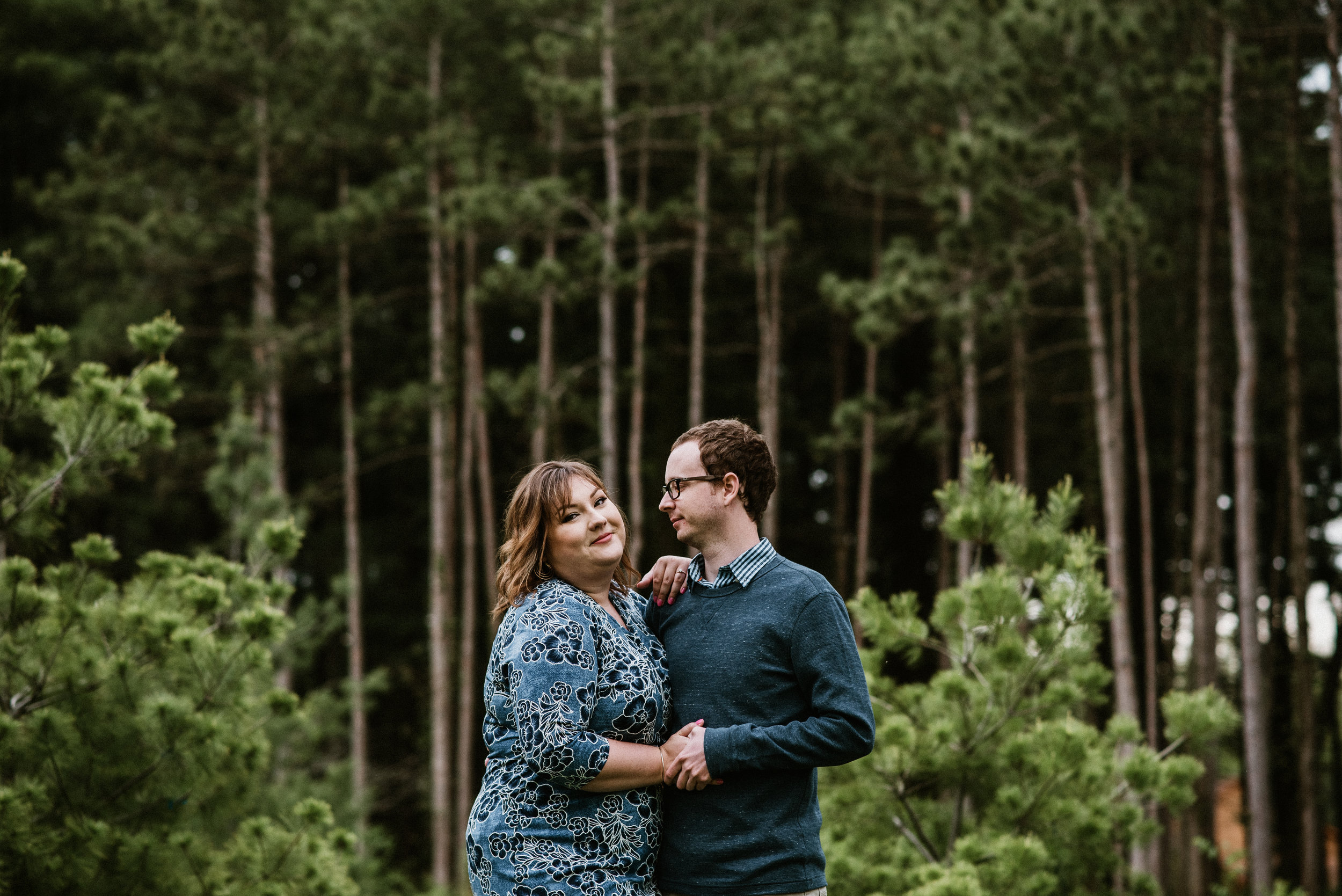 Amanda and Kyle - Amanda And Kyle | The Morton Arboretum Spring Engagement | Lisle, IL