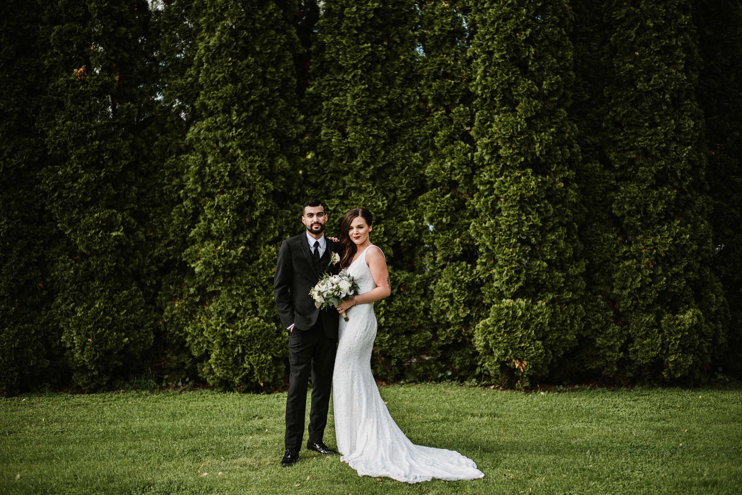 Kim and Art - A Timeless Romantic Spring Wedding | Historic Home In Dixon, IL