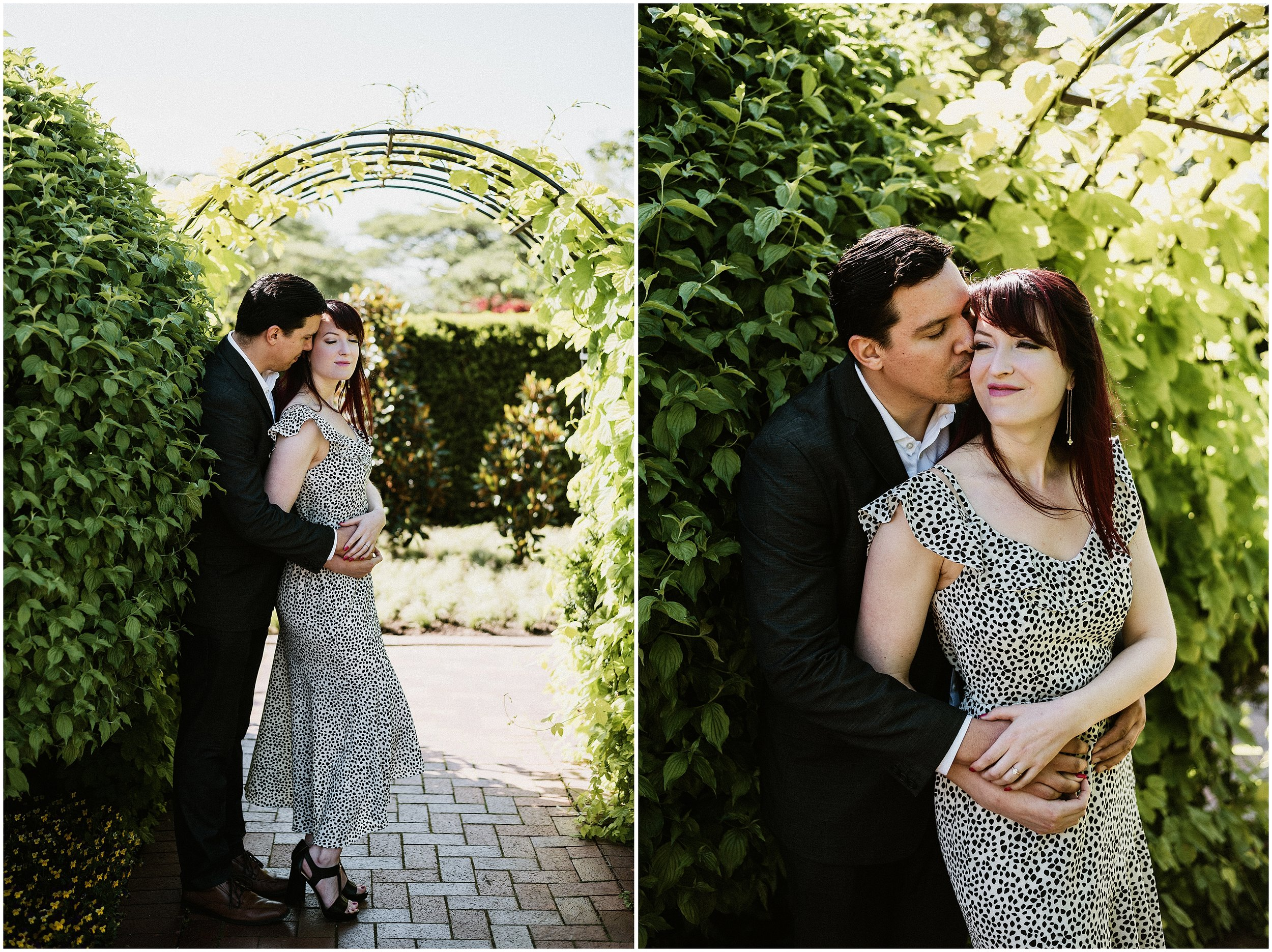 Candace Sims Photography |Sarah And Marcel | Chicago Botanic Garden Engagement Session | Chicago, IL