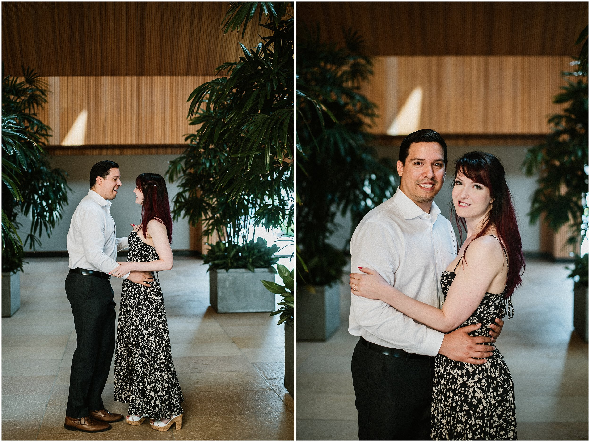Candace Sims Photography | Sarah And Marcel | Chicago Botanic Garden Engagement Session | Chicago, IL