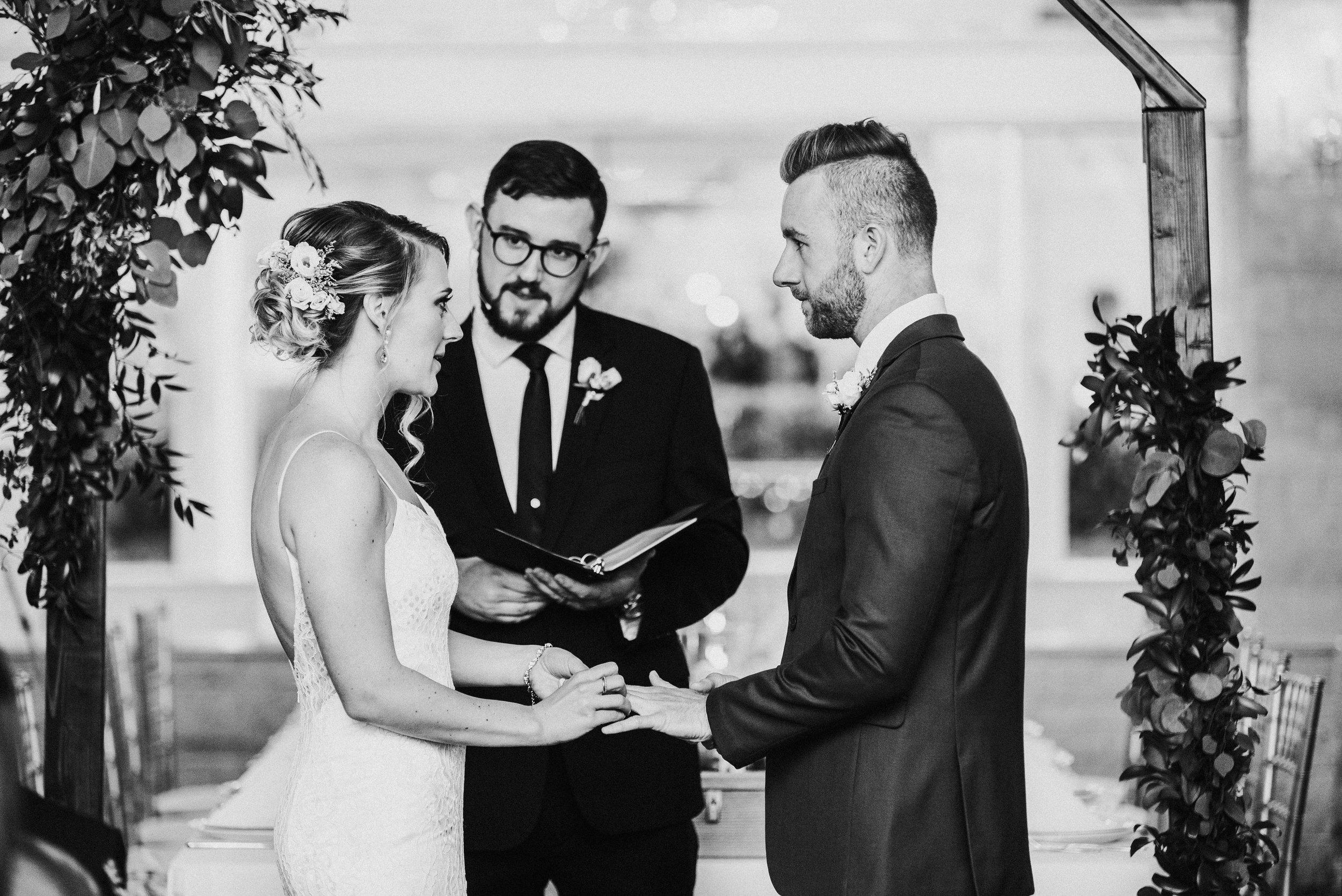Stephanie and Chris | Elegant Modern Summer Wedding | Moser Tower & Meson Sabika, Naperville, IL | Chicago Wedding Photographer