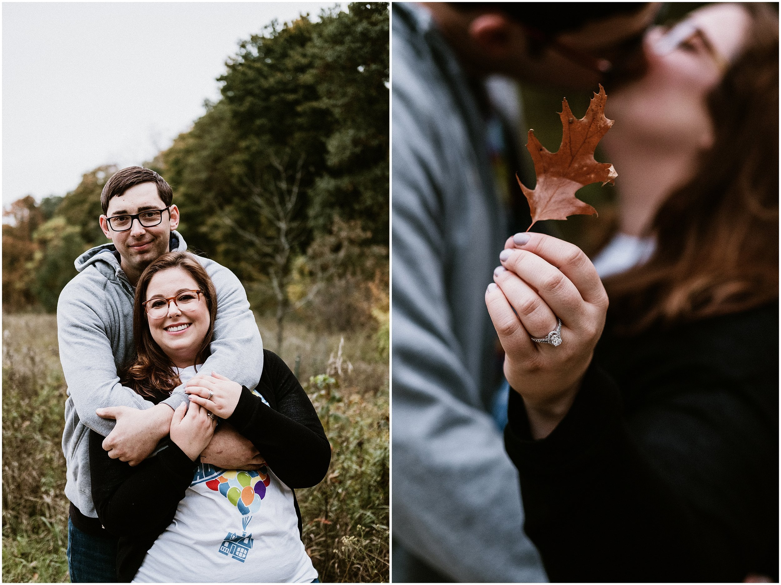 Rachel and Patrick | Disney Fairytale Up Engagement Session | Ryerson Conservation Area | Deerfield, IL | Chicago Wedding Photographer