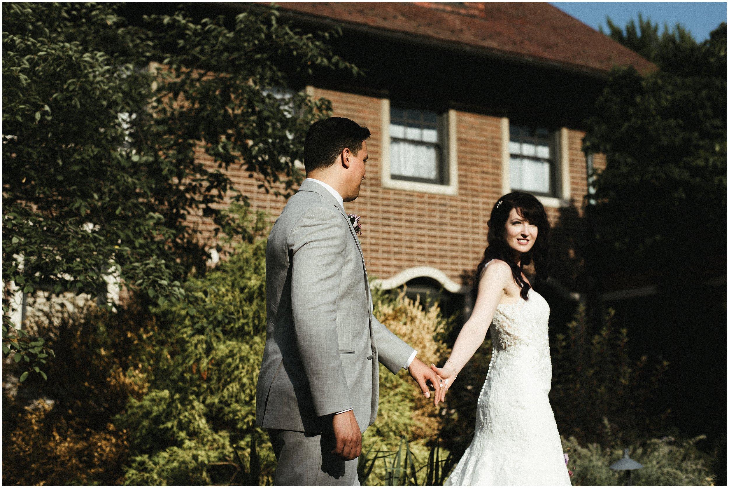 Sarah and Marcel   Romantic Vintage Wedding at Cheney Mansion   Oak Park, IL