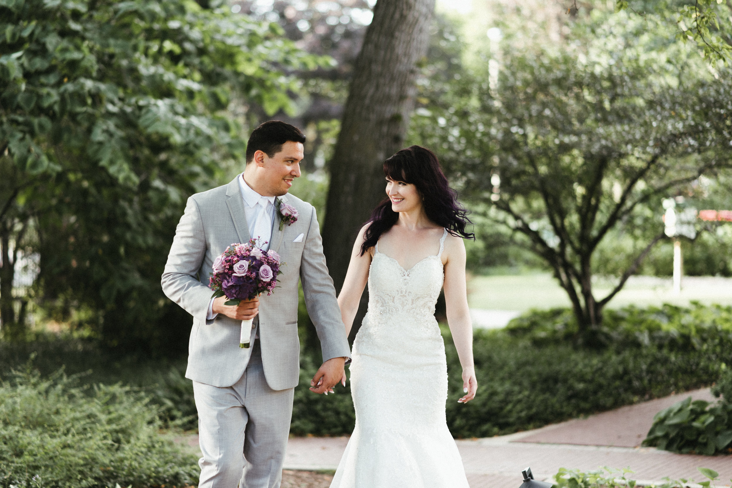 Sarah and Marcel - Romantic Vintage Wedding At Cheney Mansion | Oak Park, IL