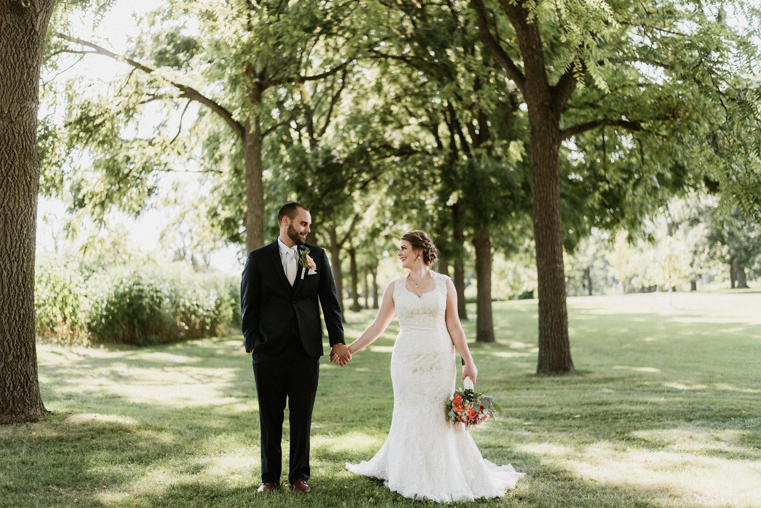 Jenny and Mike - Classic Summer Wedding | St. Michael's Catholic Church & Arrowhead Golf Course | Wheaton, IL | Naperville Wedding Photographer