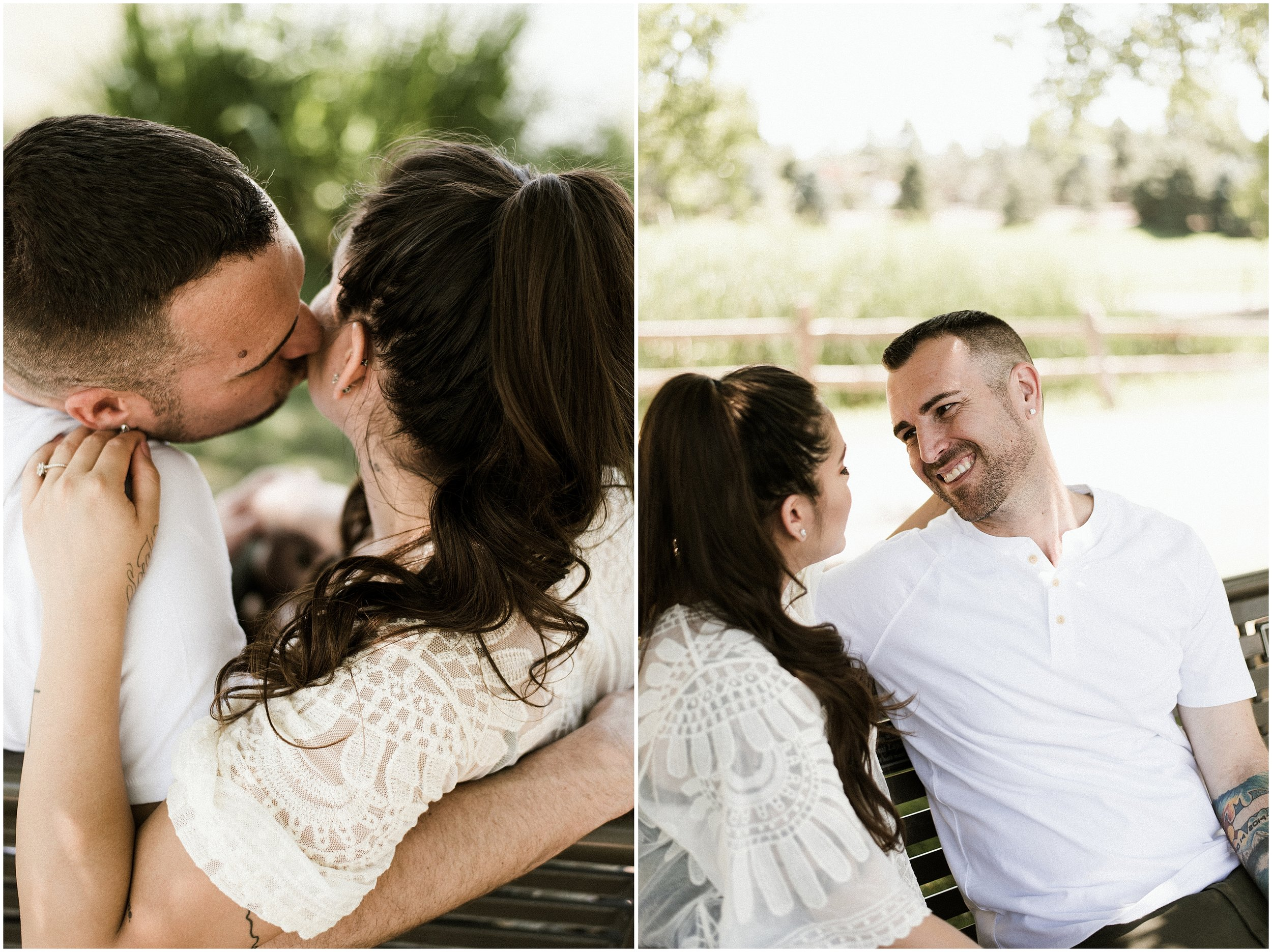 Vania And Jason Romantic Denver Engagement | Roxborough Park | Hudson Gardens | Jackass Hill | Littleton, CO | Chicago Travel Wedding Photographer