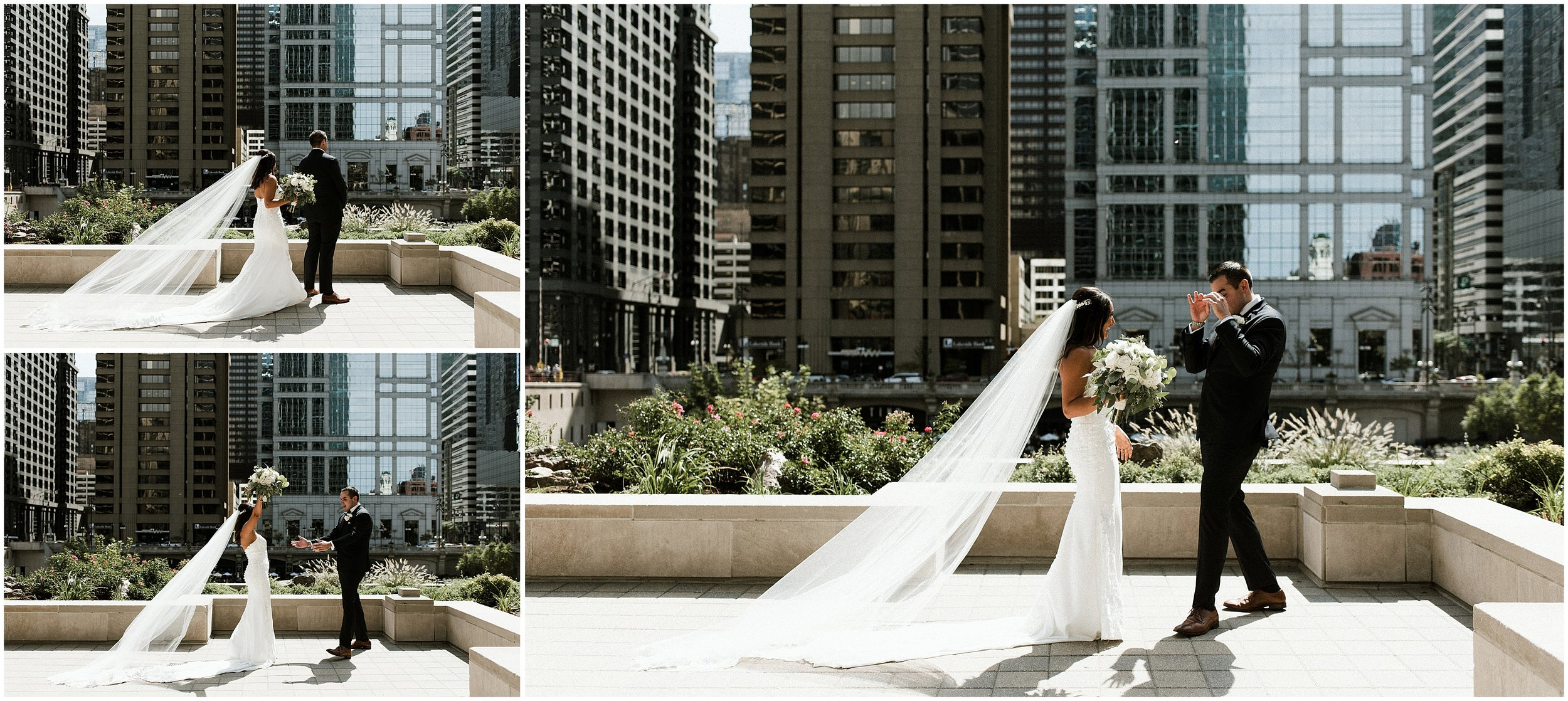 Candace Sims Photography | Mj and Kevin's Modern Romantic City Wedding | The Westin Chicago Northshore and Ignite Glass Studio | Chicago, IL | Naperville Wedding Photographer