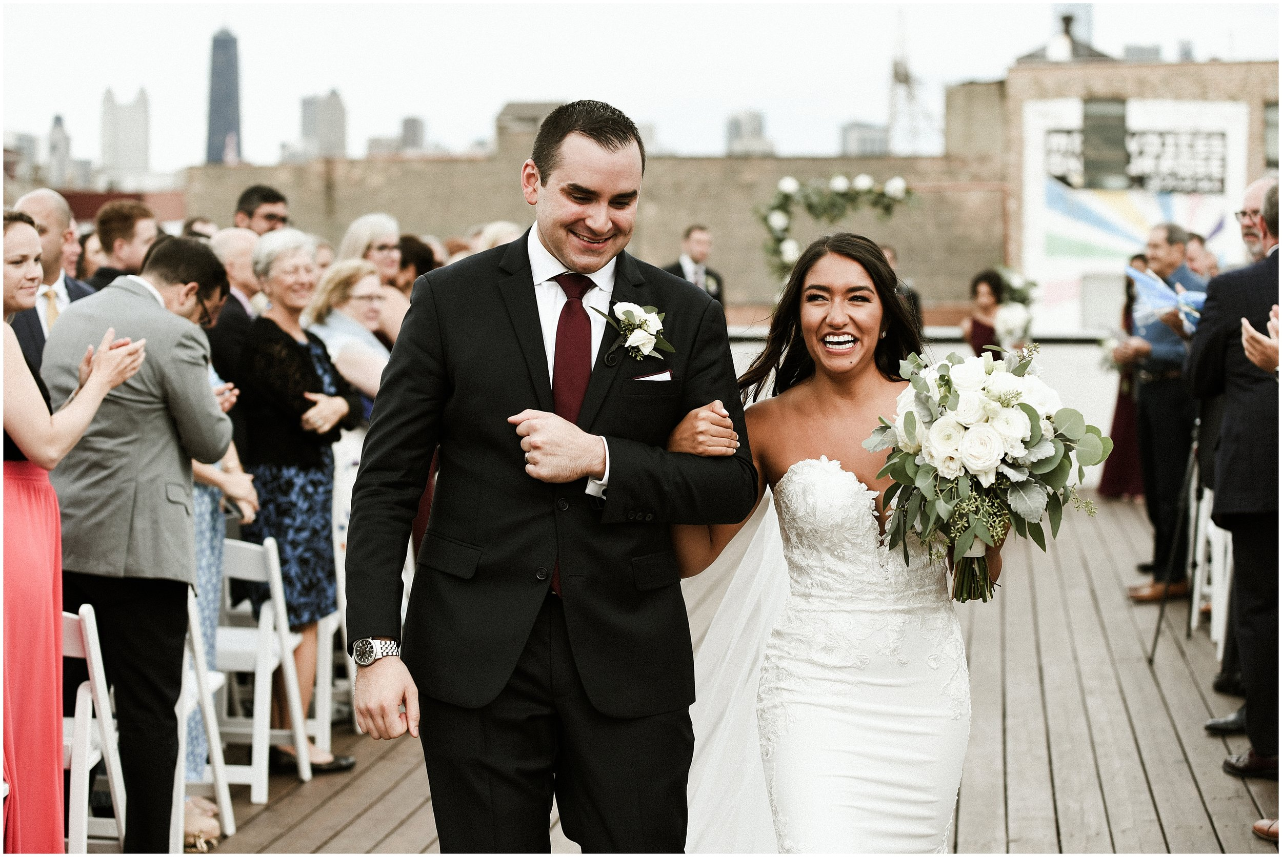 Candace Sims Photography | Mj And Kevin's Modern Romantic City Wedding | The Westin Chicago Northshore And Ignite Glass Studios | Chicago, IL | Naperville Wedding Photographer