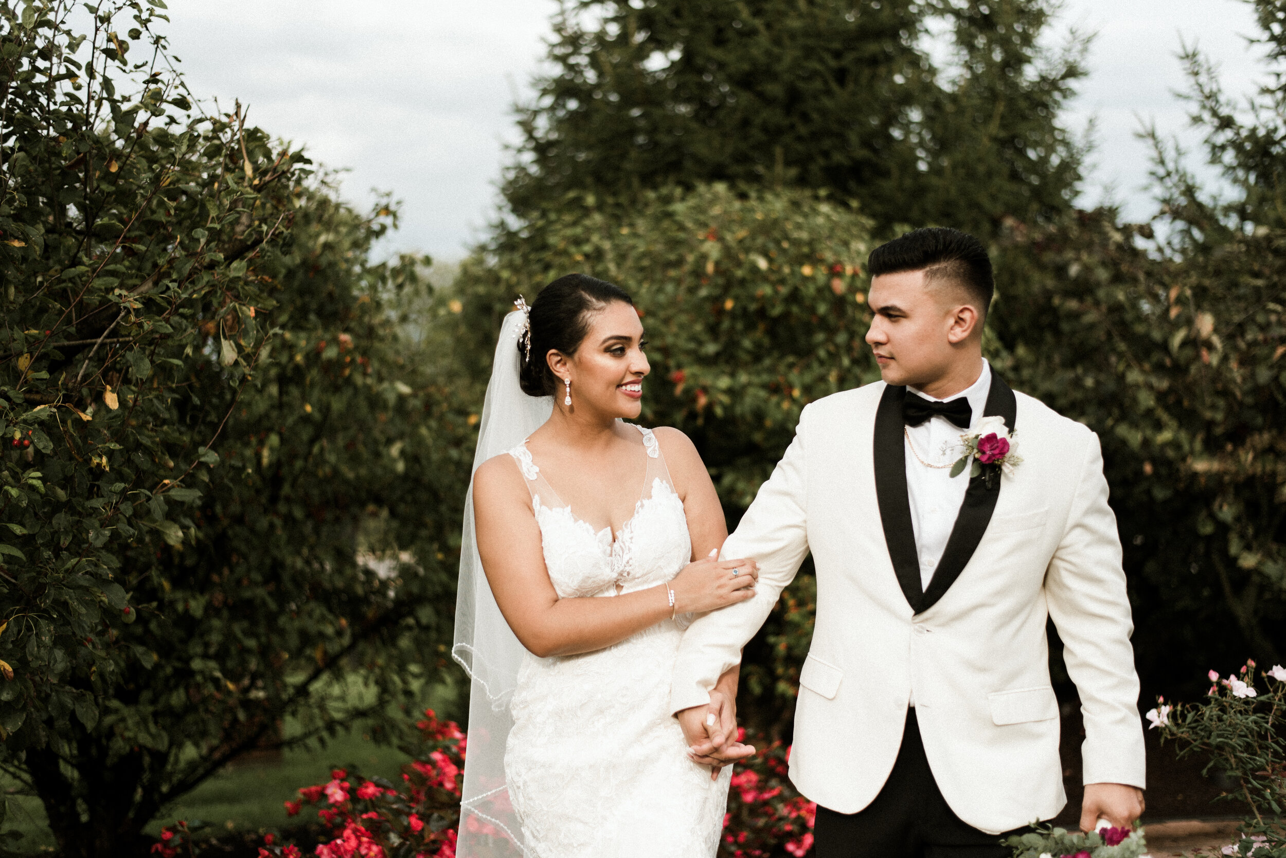 Elizabeth And Arik - | Rainy & Romantic Chicago Wedding | St. Raphael The Archangel Catholic Church | Concorde Banquet Kildeer, IL | Naperville Wedding Photographer