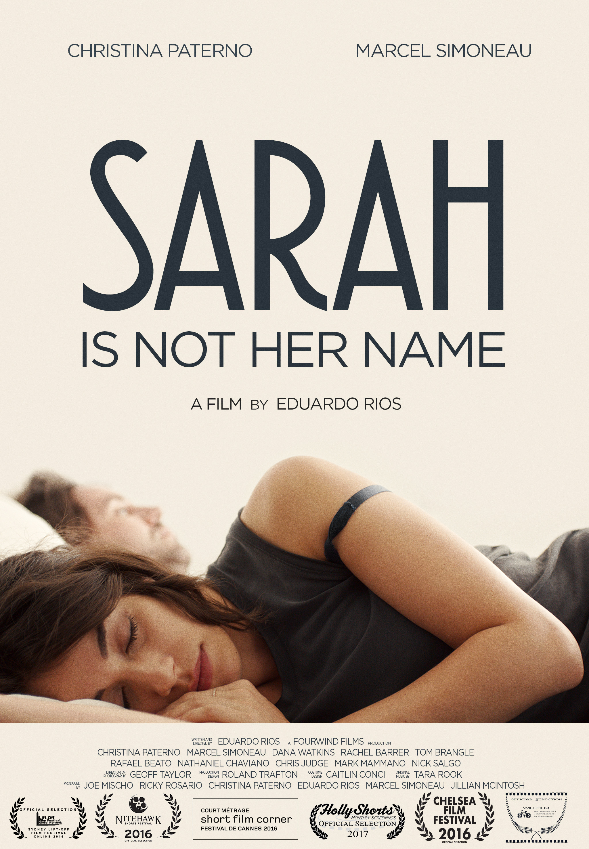 SARAH IS NOT HER NAME Poster .jpg