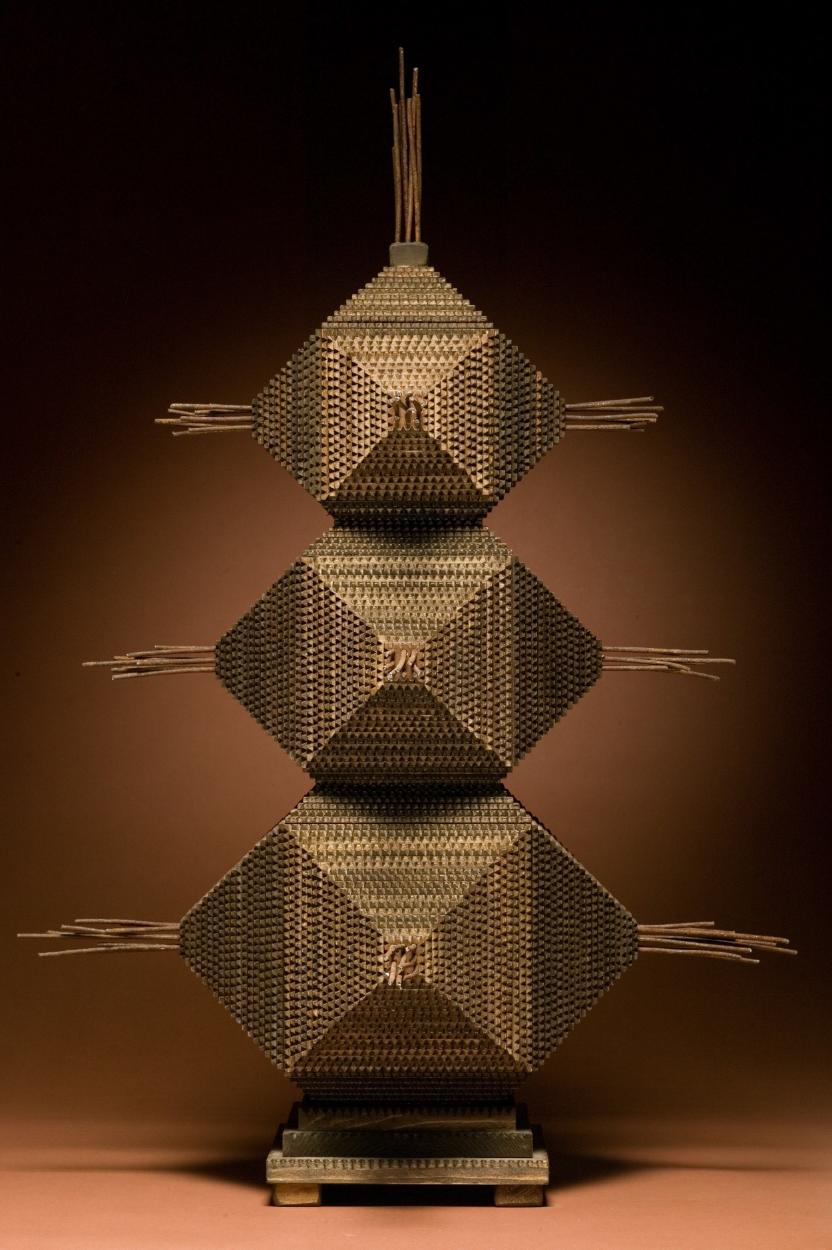 """Box No. 18, """"Black Prince"""", 2006 – 24""""x 24"""