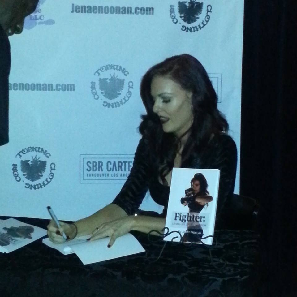 Fighter Book Signing party
