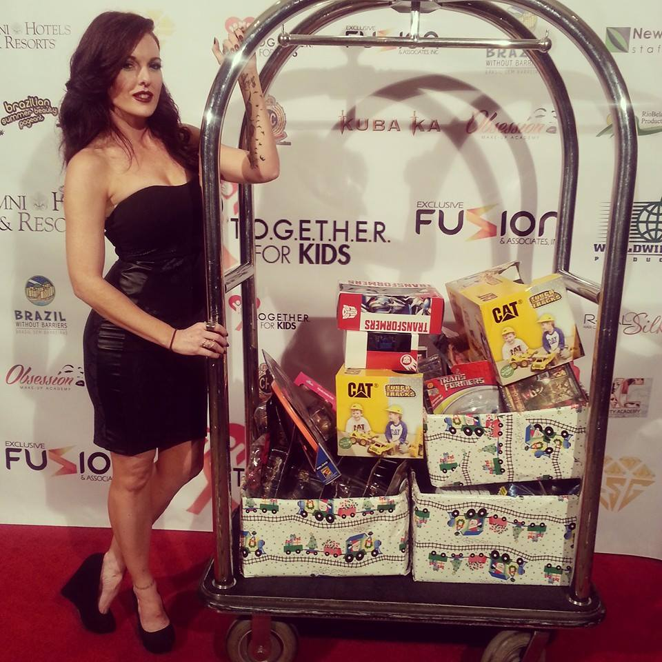 For the Children Holiday fundraiser event