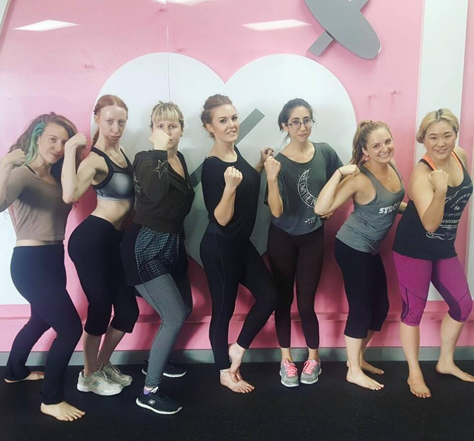 Self defense at Pink Iron