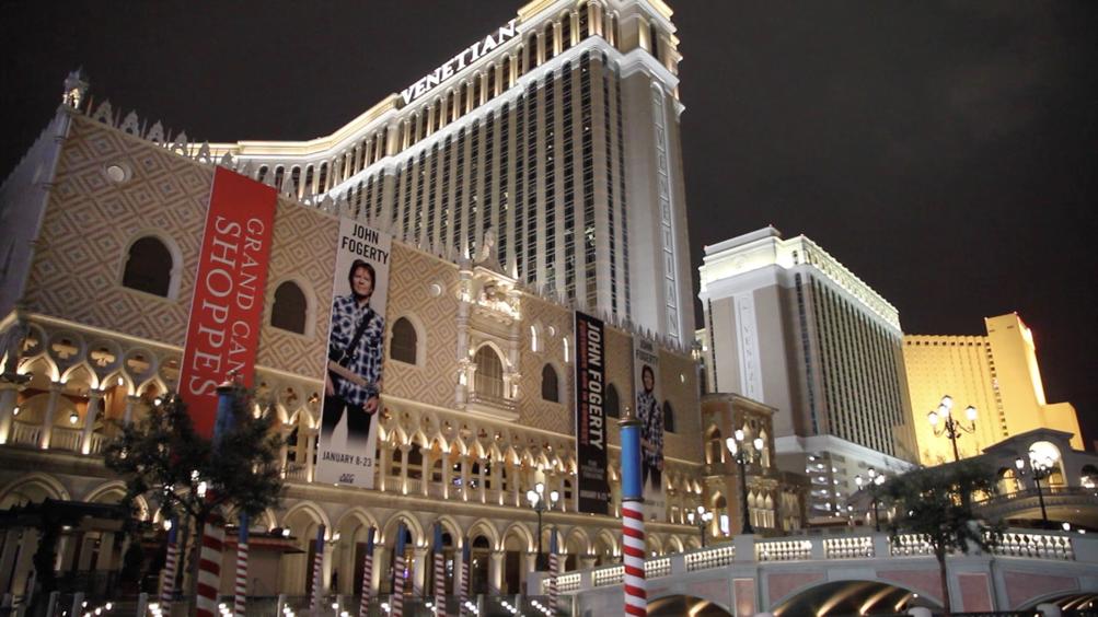 ベニス風がテーマのカジノホテルVENETIAN - 3000人規模の基調講演の会場の一つとなった。