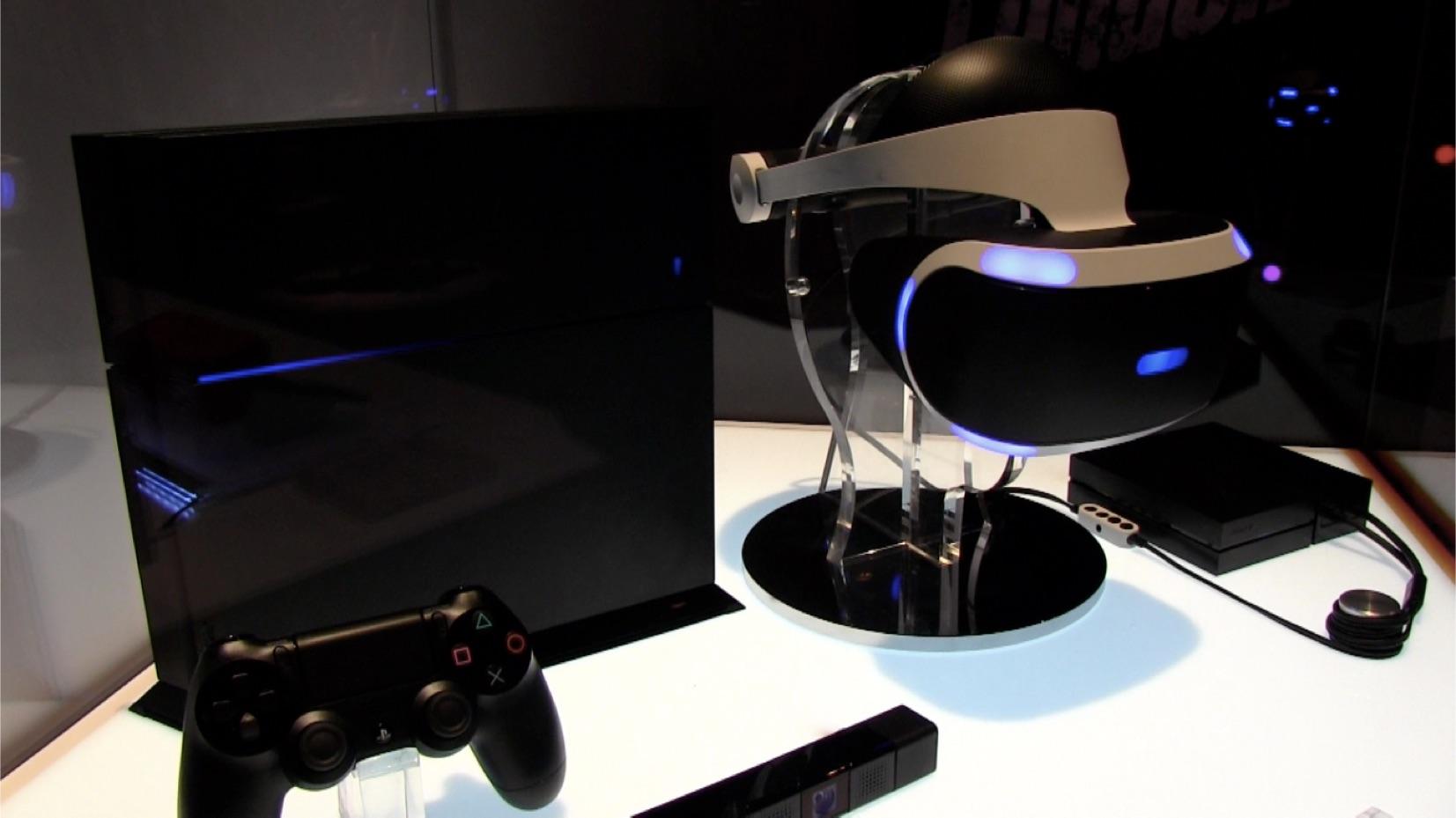 発表が心待ちにされていたPlayStation VRの体験ブース。この後2016年10月13日に発売された。