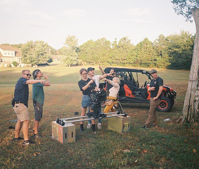 A crew in Nashville working hard.