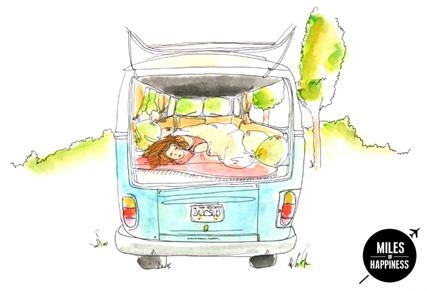 Road Trip - Nap in the van